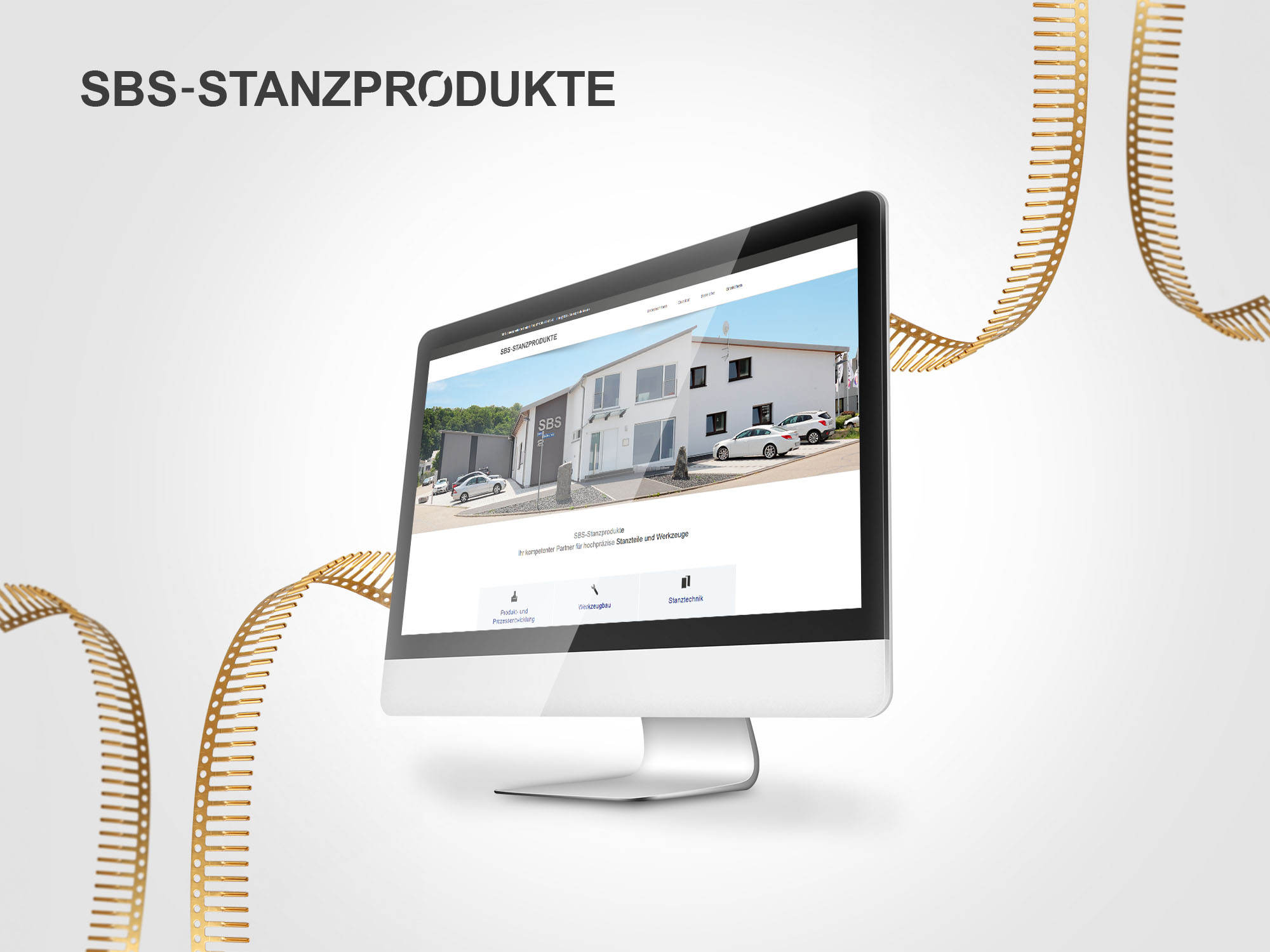 SBS Stanzprodukte Website